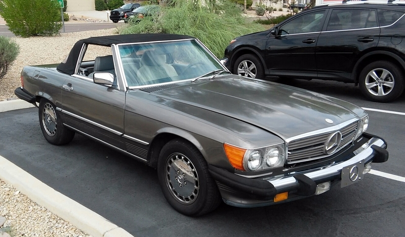 1989 mercedes benz 560sl for sale in fountain hills for Plaza mercedes benz service