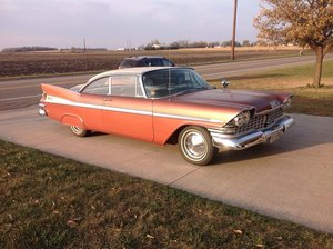 1959 Plymouth Sports fury