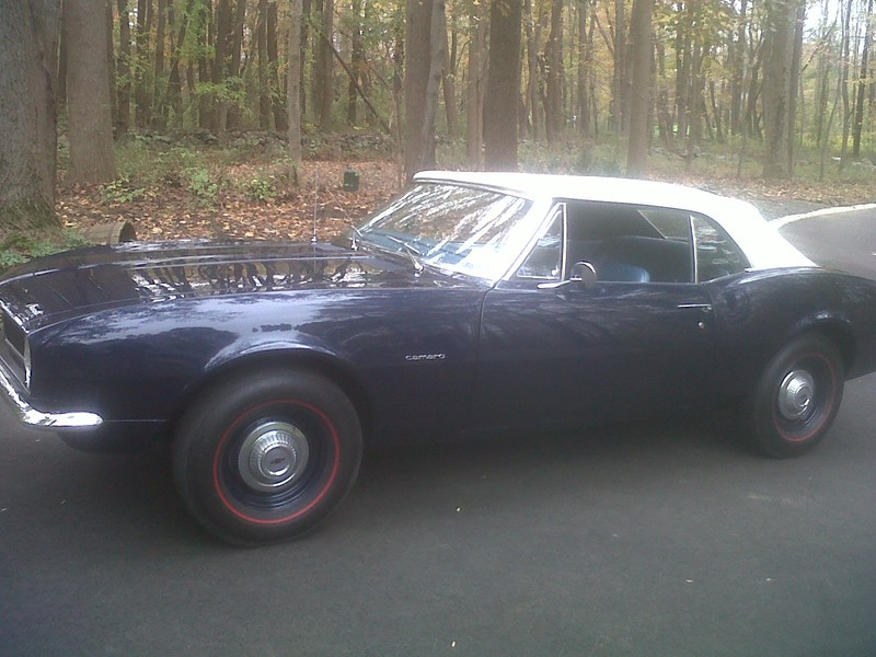 1967 Chevrolet Camaro      (ONE OWNER)