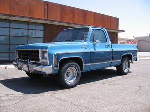 1979 Chevrolet C10 Big 10 Bonanza Short Bed