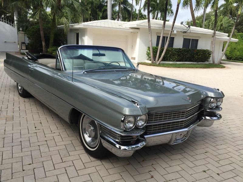 Cars For Sale Miami Beach: 1963 Cadillac DEVILLE For Sale In Miami Beach, Florida