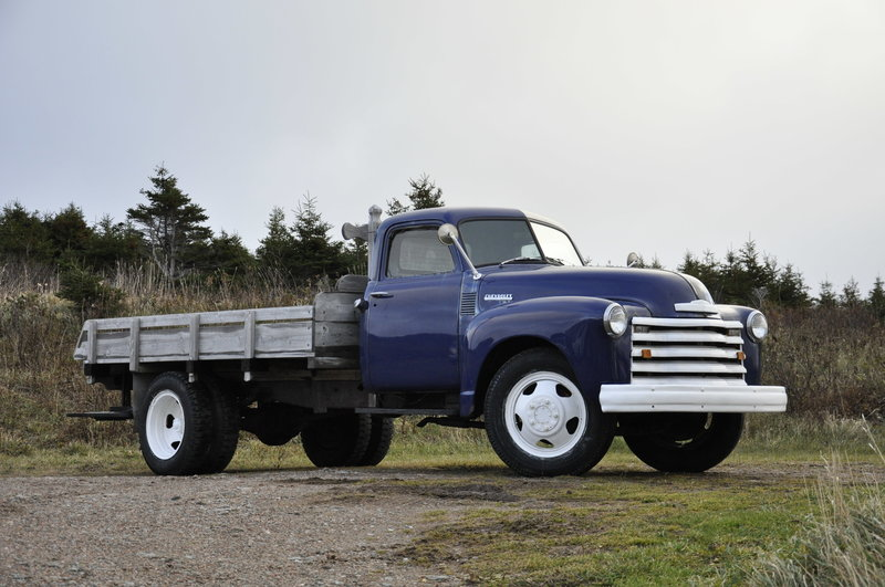 Auctions Nova Scotia >> 1950 Chevrolet 2 ton truck For Sale in Bay st lawrence, Nova Scotia | Old Car Online
