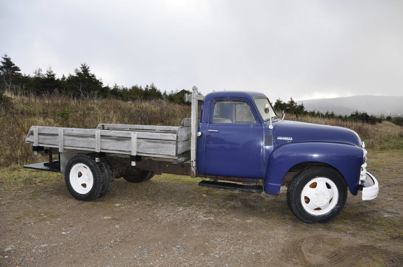 1950 chevrolet 2 ton truck for sale in bay st lawrence