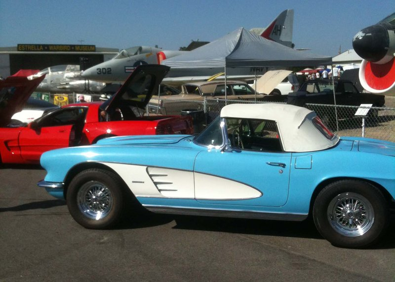 1961 chevrolet corvette for sale in morro bay california old car online. Black Bedroom Furniture Sets. Home Design Ideas