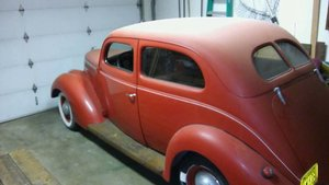 1937 Ford Slantback two door sedan