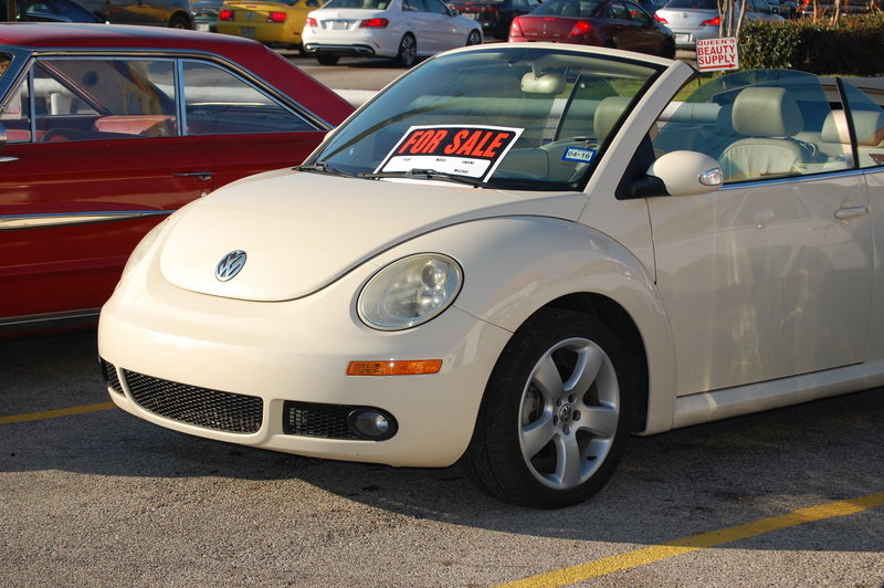 2007 volkswagen convertible new beetle for sale in houston texas old car online. Black Bedroom Furniture Sets. Home Design Ideas