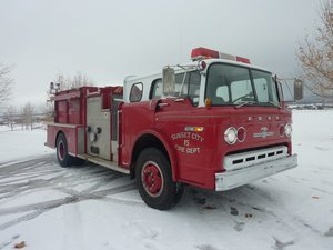 1983 Ford F-800 American LaFrance Fire Truck