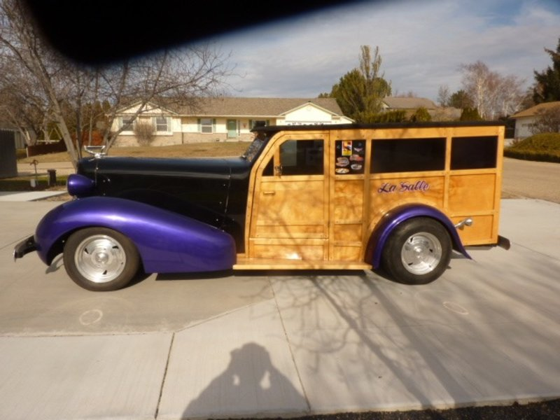 1936 Cadillac LaSalle Woody Wagon For Sale in Caldwell, Idaho   Old Car Online
