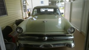 1953 Ford sunliner convertable