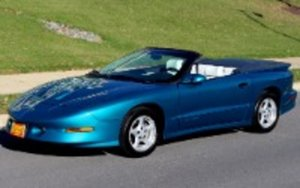 1996 Pontiac Firebird Trans Am Convertible