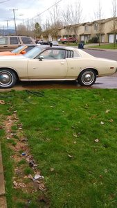 1974 Dodge charger/coronet B Body SE