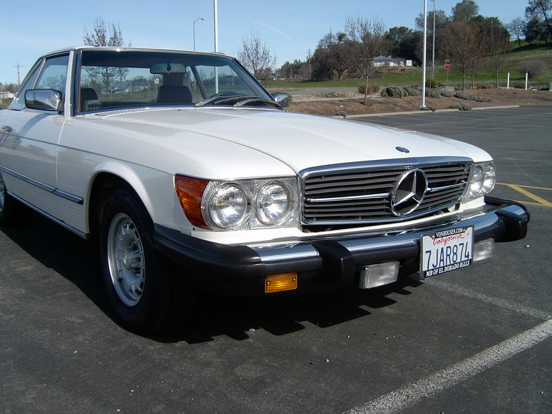 1981 mercedes benz 380sl for sale in pine grove for Mercedes benz monterey ca