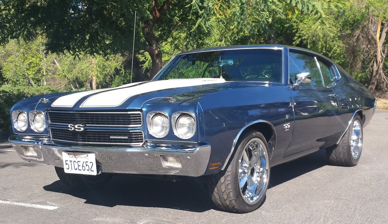 1970 Chevrolet Chevelle Ss For Sale In Fallbrook