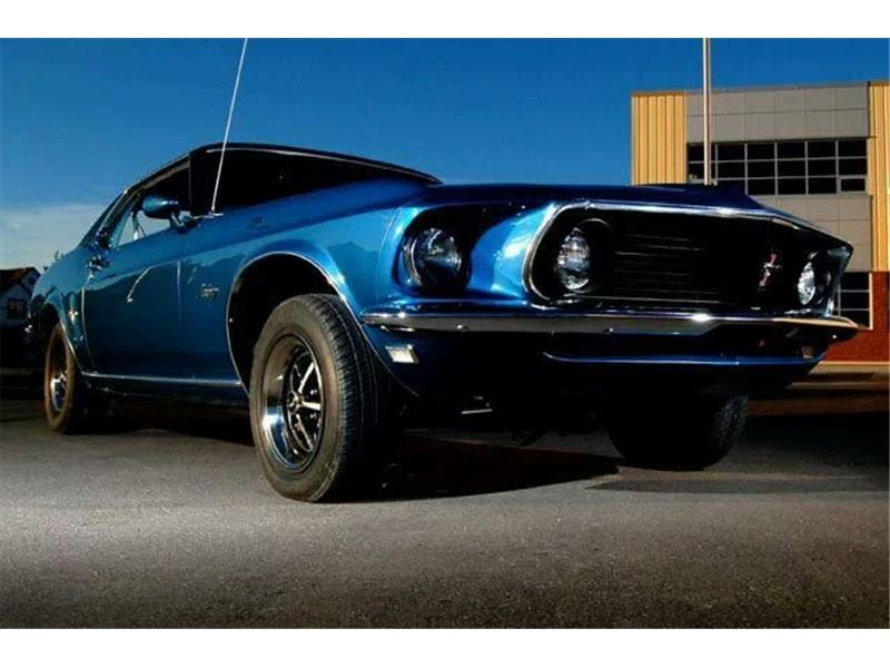 1969 ford mustang coupe grande - 1969 Ford Mustang Coupe