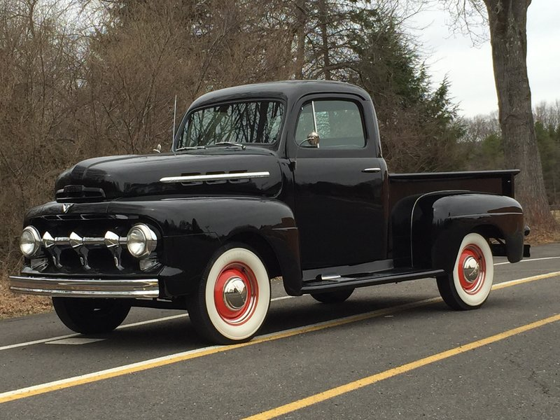 1951 ford f 1 for sale in succasunna new jersey old car online. Black Bedroom Furniture Sets. Home Design Ideas