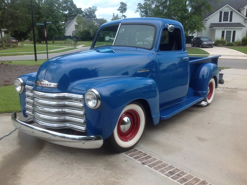 1950 chevrolet 3100 for sale in richmond hill georgia old car online. Black Bedroom Furniture Sets. Home Design Ideas
