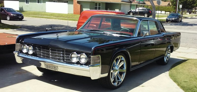 1964 lincoln continental for sale in carson california old car online. Black Bedroom Furniture Sets. Home Design Ideas