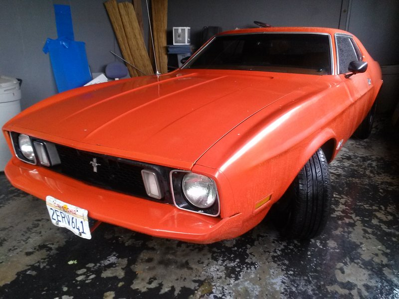 1973 ford mustang for sale in los angeles california old car online. Black Bedroom Furniture Sets. Home Design Ideas