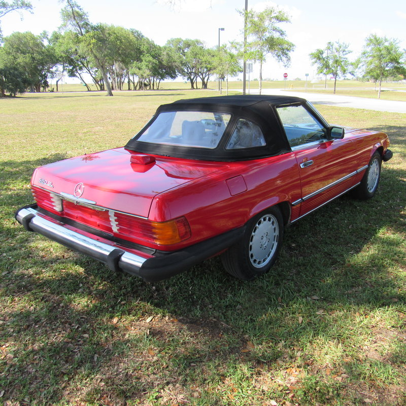 1987 mercedes benz 560sl for sale in north miami beach for 1987 mercedes benz 560sl parts