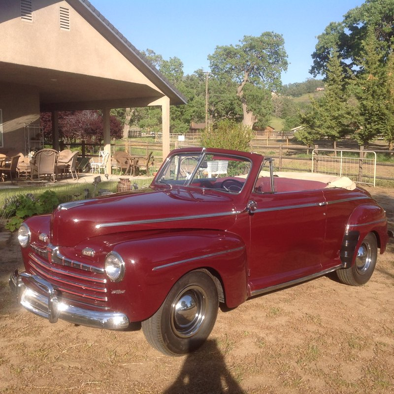 1946 Ford SUPER DELUX CONVERTIBLE For Sale In Bozeman