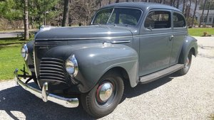 1940 Plymouth 2 Door Sedan