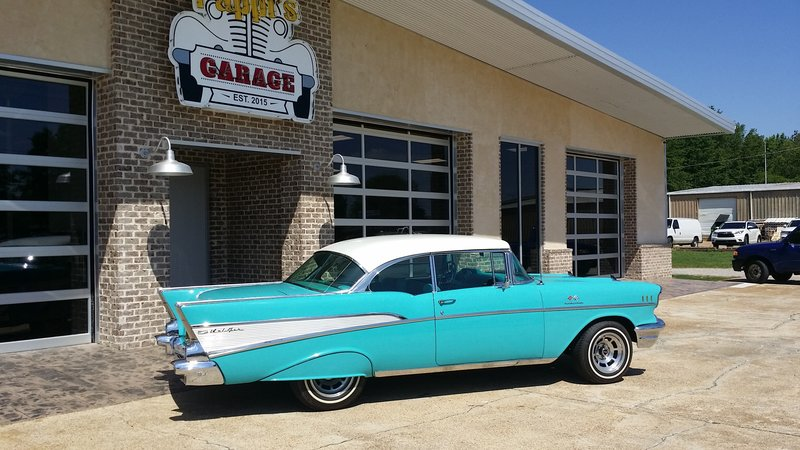 1957 chevrolet bel air for sale in tupelo mississippi old car online. Black Bedroom Furniture Sets. Home Design Ideas
