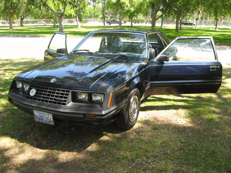 1981 ford mustang for sale in long beach california old. Black Bedroom Furniture Sets. Home Design Ideas