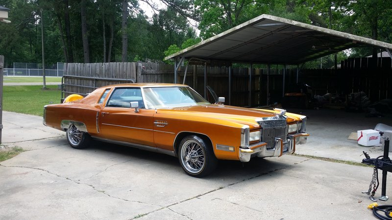 1972 cadillac eldorado for sale in zackary louisiana old car online for 1972 cadillac eldorado interior