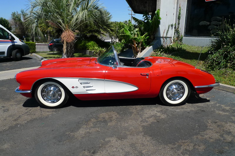 1959 chevrolet corvette for sale in anaheim california old car. Cars Review. Best American Auto & Cars Review