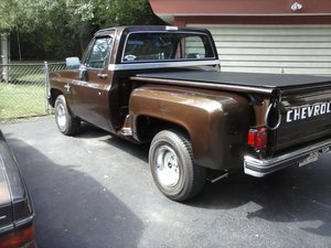 1986 Chevrolet C10 shortbed stepside