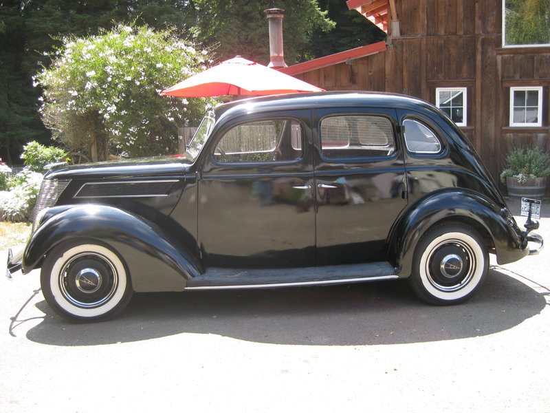 1937 ford 4 door sedan slant back for sale in fort bragg