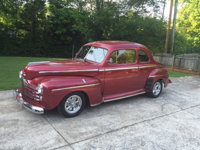 1948 ford super deluxe for sale in charlotte north carolina old car online. Black Bedroom Furniture Sets. Home Design Ideas