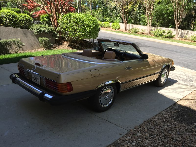 1988 mercedes benz 560sl for sale in atlanta georgia for Mercedes benz of atlanta parts
