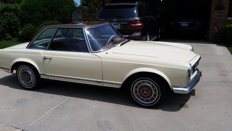 1967 mercedes benz 230 sl for sale in westchester for Mercedes benz marion il
