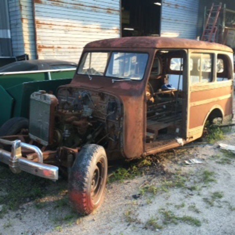 1943 Jeep-Willys Overland Station Wagon For Sale In