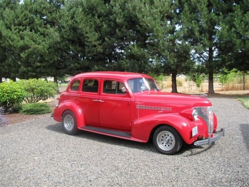 1939 chevrolet master deluxe for sale in salem oregon old car online. Black Bedroom Furniture Sets. Home Design Ideas