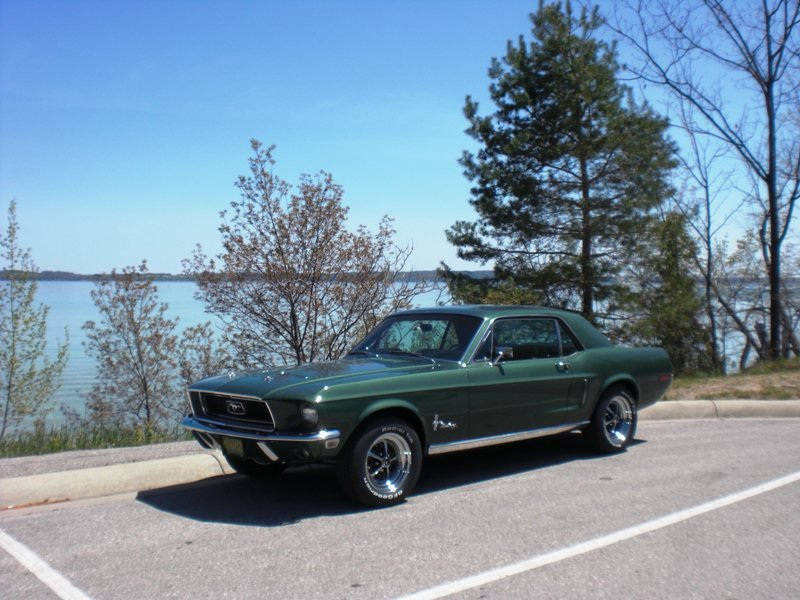1968 ford mustang for sale in traverse city michigan old car online. Black Bedroom Furniture Sets. Home Design Ideas