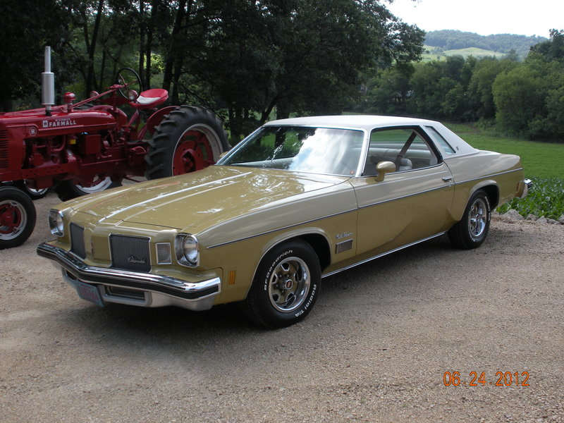 1974 oldsmobile cutlass supreme for sale in spring hill florida old car online. Black Bedroom Furniture Sets. Home Design Ideas