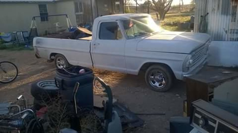 1967 ford f100 for sale in hobbs new mexico old car online. Black Bedroom Furniture Sets. Home Design Ideas