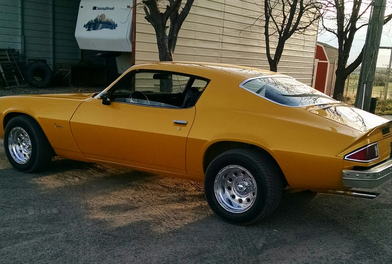 1974 Chevrolet Camaro For Sale In Brush Colorado Old