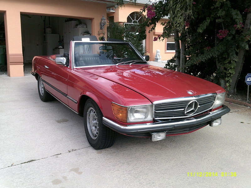 1978 mercedes benz 280 sl for sale in port for Mercedes benz of port st lucie