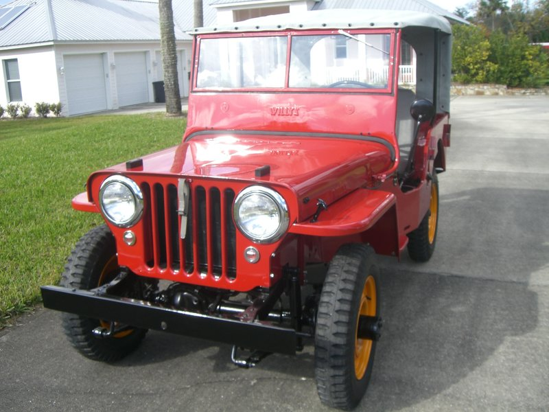 1946 jeep willys cj2a for sale in port orange florida old car online. Black Bedroom Furniture Sets. Home Design Ideas