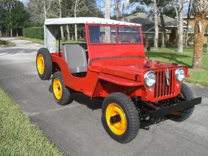 1946 Jeep-Willys cj2a