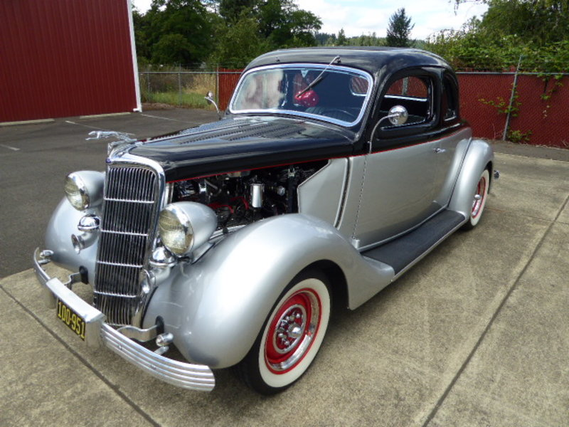 1935 ford 2 door coupe model 48 for sale in turner oregon for 1935 ford 2 door sedan for sale