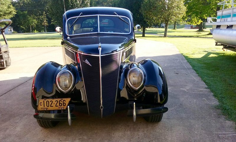 1937 ford model 78 tudor for sale in paris tennessee. Black Bedroom Furniture Sets. Home Design Ideas