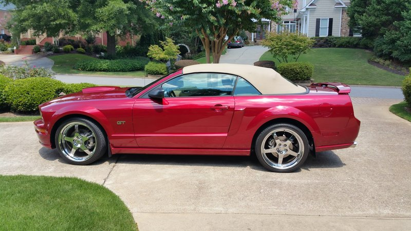 2007 ford mustang gt for sale in marietta georgia old car online. Black Bedroom Furniture Sets. Home Design Ideas