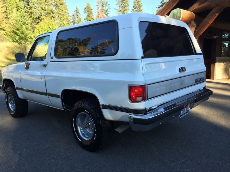 1991 chevrolet blazer for sale in boise idaho old car online. Black Bedroom Furniture Sets. Home Design Ideas