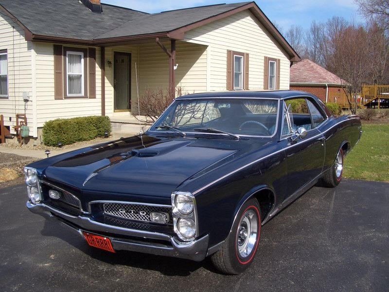 1967 pontiac gto for sale in mineral ridge ohio old car online. Black Bedroom Furniture Sets. Home Design Ideas