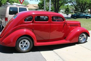1937 Ford Sedan Slant back