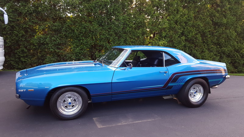 1969 chevrolet camaro for sale in allentown pennsylvania old car online. Black Bedroom Furniture Sets. Home Design Ideas